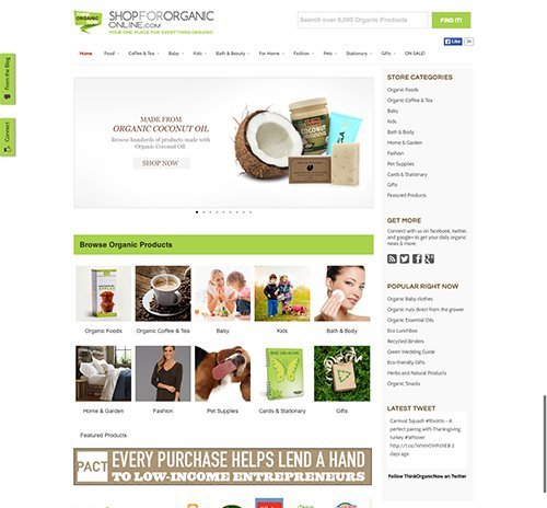 Organic Ecommerce