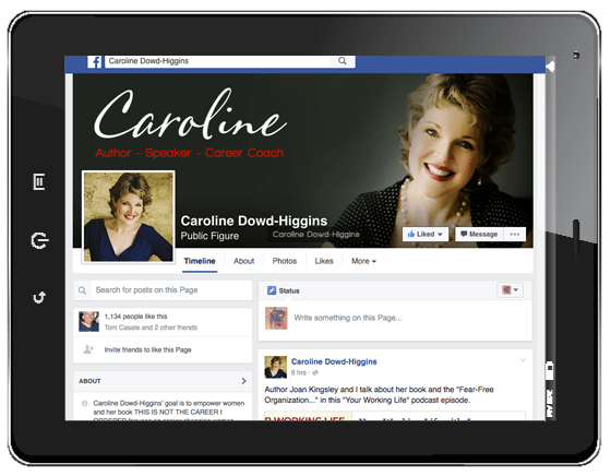 Caroline Dowd-Higgins YouTube Channel
