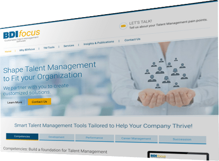 BDI Focus - Customized Talent Management Software