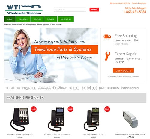Wholesale Tele ecommerce